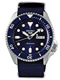 Seiko Men's Analogue Automatic Watch with Cloth Strap SRPD51K2